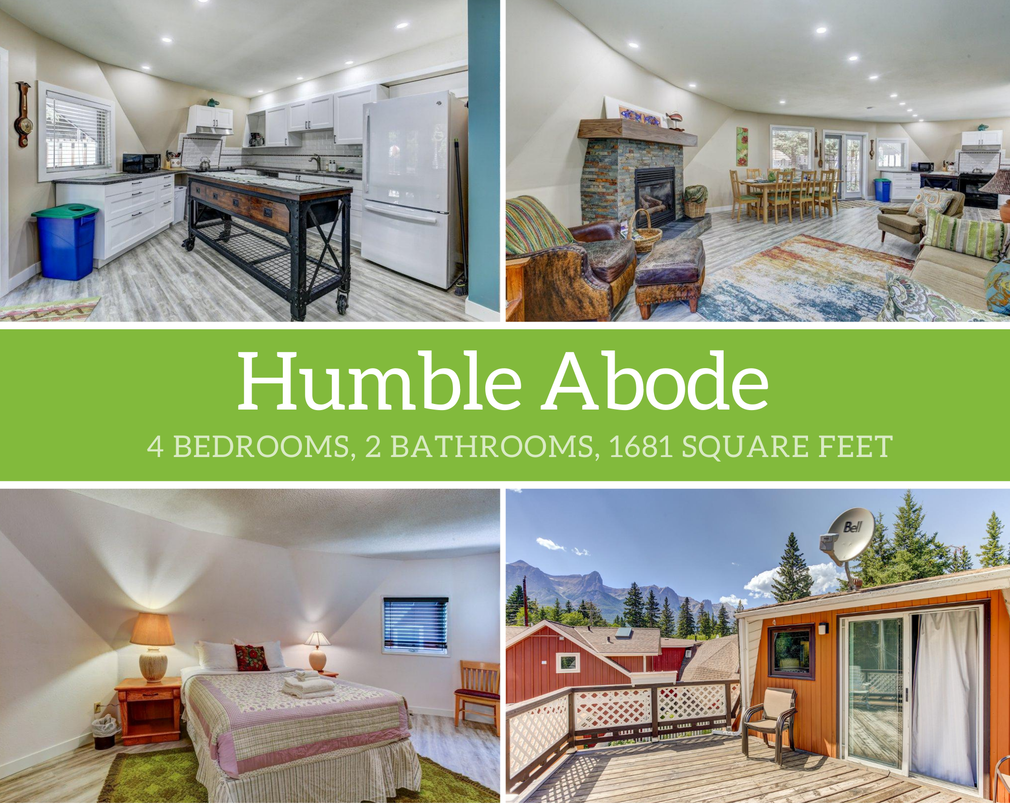 Canmore,Alberta,4 Bedrooms Bedrooms,2 BathroomsBathrooms,House,1013
